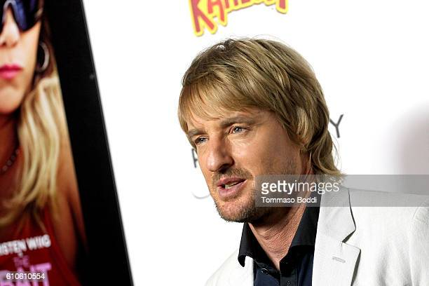 Actress Owen Wilson attends the premiere of Relativity Media's 'Masterminds' held at TCL Chinese Theatre on September 26 2016 in Hollywood California
