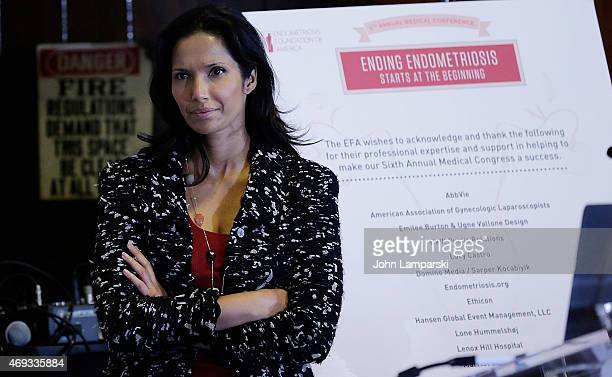 Actress Padma Lakshmi attends 6th Annual Endometriosis Foundation of America's Medical Conference 'Ending Endometriosis Starts at the Beginning' at...