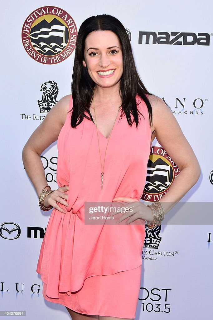 Actress Paget Brewster attends the Festival of Arts Celebrity Benefit Concert and Pageant on August 23, 2014 in Laguna Beach, California.
