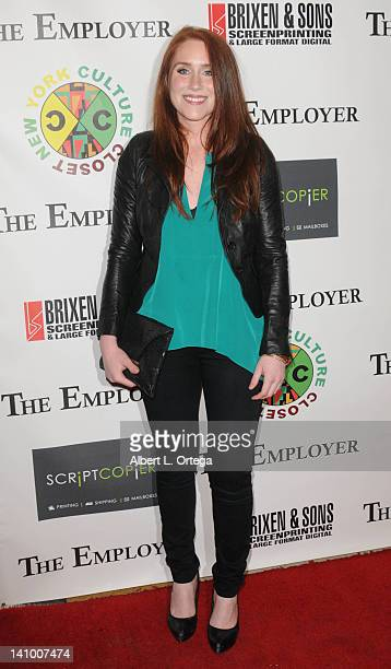 Actress Paige Howard arrives for 'The Employer' Los Angeles Screening held at Regent Showcase Theatre on March 6 2012 in West Hollywood California