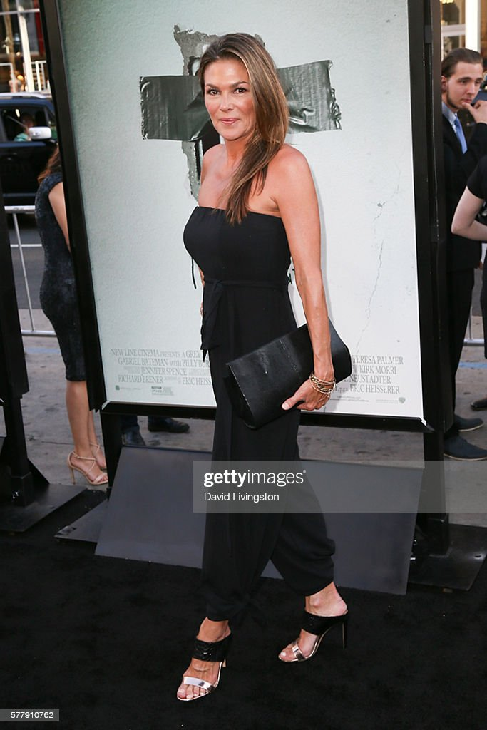 Actress Paige Turco arrives at the premiere of New Line Cinema's 'Lights Out' at the TCL Chinese Theatre on July 19 2016 in Hollywood California