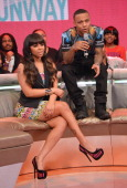 Actress Paigion and rapper Bow Wow cohost BET's 106th Park show at 106 Park Studio on March 20 2013 in New York City