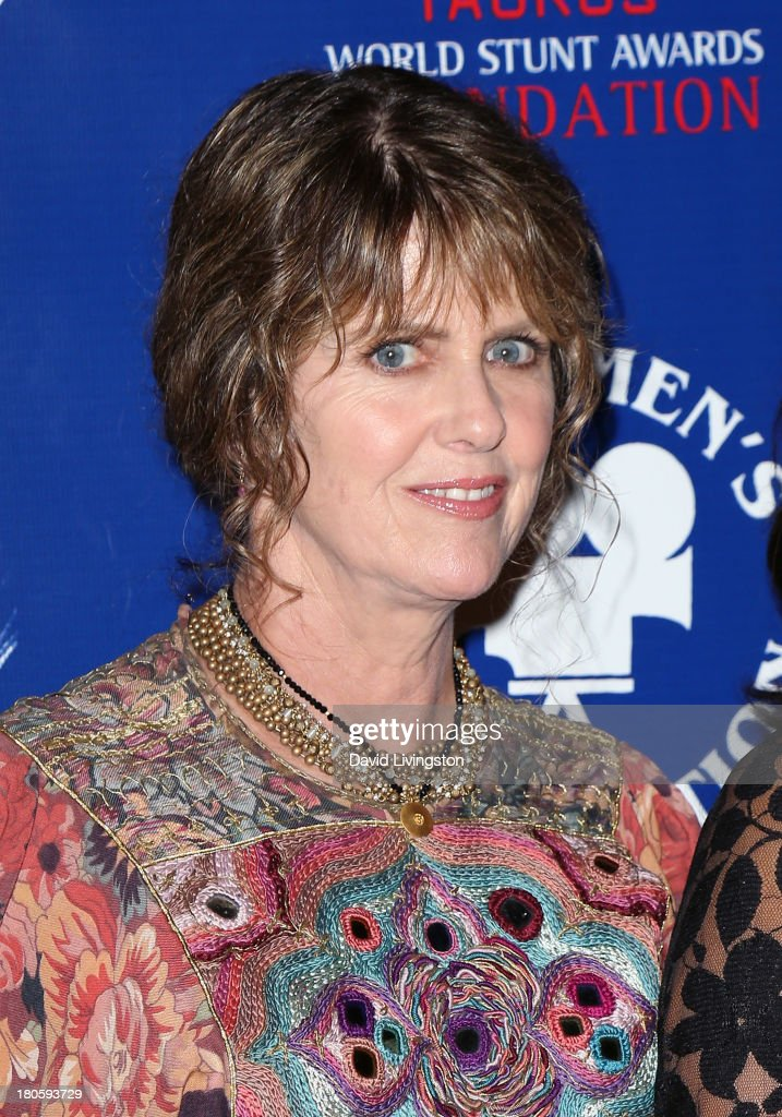 Actress <a gi-track='captionPersonalityLinkClicked' href=/galleries/search?phrase=Pam+Dawber&family=editorial&specificpeople=643517 ng-click='$event.stopPropagation()'>Pam Dawber</a> attends the Stuntmen's Association of Motion Pictures 52nd Annual Awards Dinner to benefit the Taurus World Stunt Awards Foundation at the Hilton Universal City on September 14, 2013 in Universal City, California.