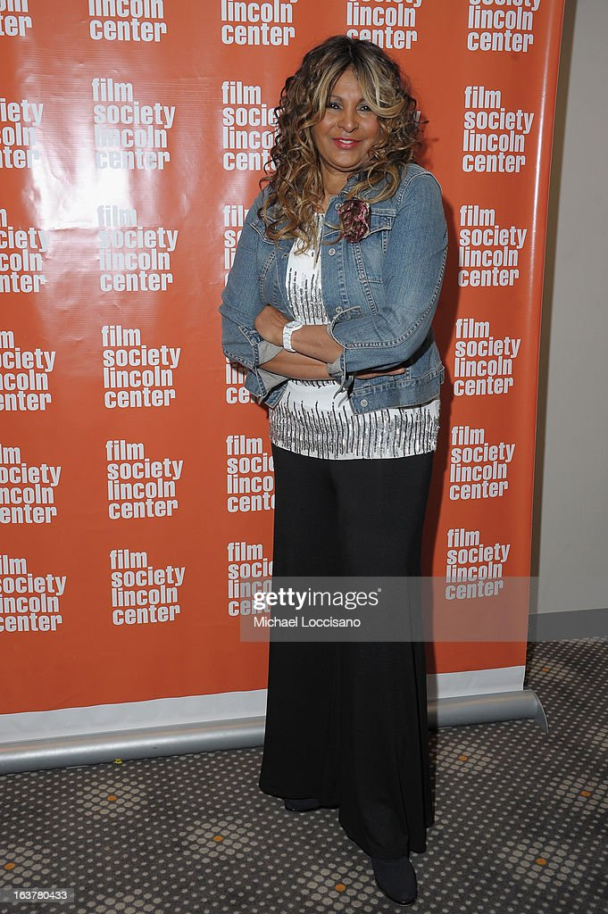 Actress Pam Grier attends 'Foxy The Complete Pam Grier' Film Series at Walter Reade Theater on March 15 2013 in New York City