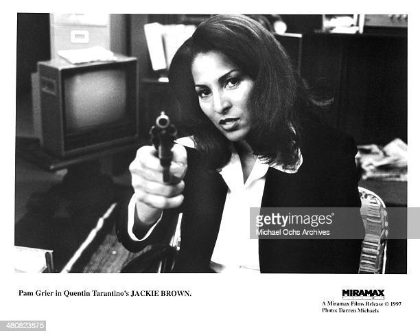 Actress Pam Grier in a scene from the Miramax movie 'Jackie Brown' circa 1997