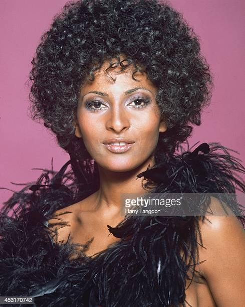 Actress Pam Grier poses for a portrait in 1973 in Los Angeles California