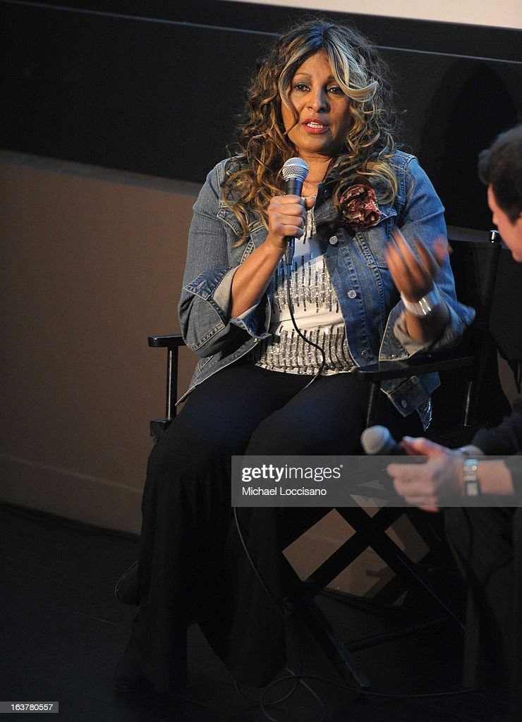 Actress <a gi-track='captionPersonalityLinkClicked' href=/galleries/search?phrase=Pam+Grier&family=editorial&specificpeople=227048 ng-click='$event.stopPropagation()'>Pam Grier</a> speaks onstage at the 'Foxy, The Complete <a gi-track='captionPersonalityLinkClicked' href=/galleries/search?phrase=Pam+Grier&family=editorial&specificpeople=227048 ng-click='$event.stopPropagation()'>Pam Grier</a>' Film Series at Walter Reade Theater on March 15, 2013 in New York City.