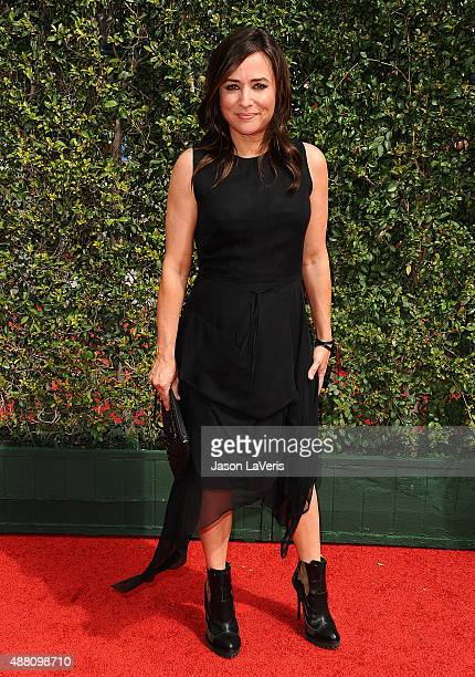 Actress Pamela Adlon attends the 2015 Creative Arts Emmy Awards at Microsoft Theater on September 12 2015 in Los Angeles California