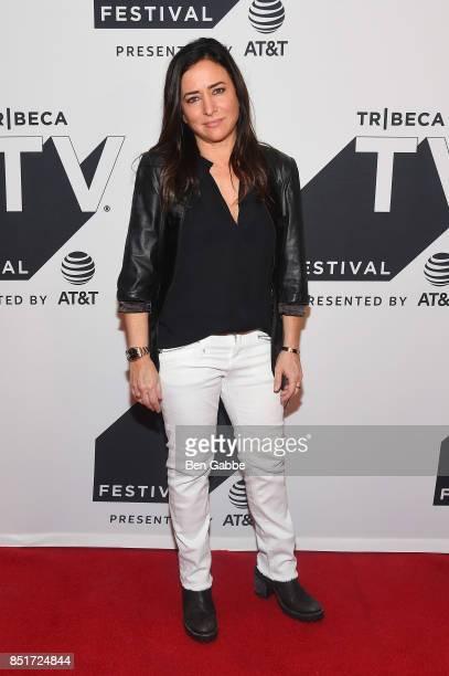 Actress Pamela Adlon attends Tribeca TV Festival's sneak peek of Better Things at Cinepolis Chelsea on September 22 2017 in New York City