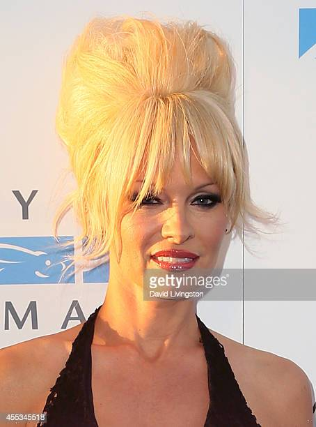 Actress Pamela Anderson attends Mercy For Animals 15th Anniversary Gala at The London on September 12 2014 in West Hollywood California