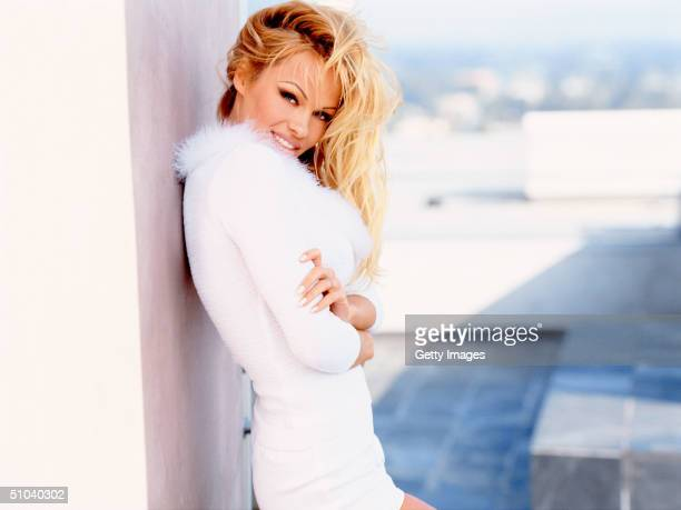 Actress Pamela Anderson Stars As Vallery Irons In The Syndicated Television Series 'VIP'