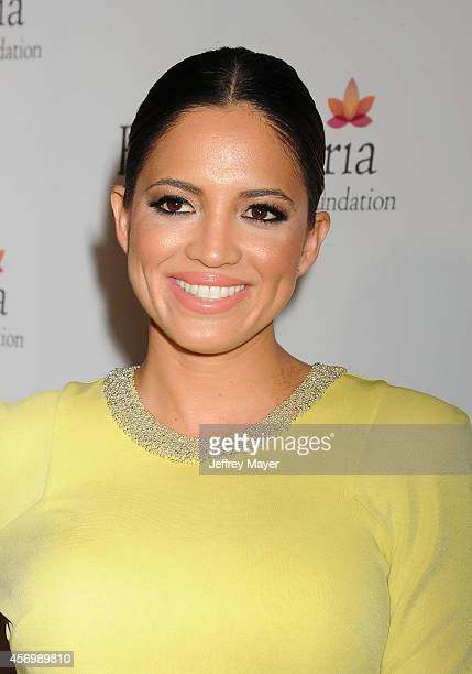 Actress Pamela Silva Conde attends Eva Longoria's Foundation dinner at Beso on October 9 2014 in Hollywood California
