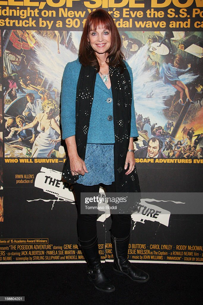 Actress Pamela Sue Martin attends the American Cinematheque's 40th Anniversary Screening of 'The Poseidon Adventure' held at American Cinematheque's Egyptian Theatre on December 29, 2012 in Hollywood, California.