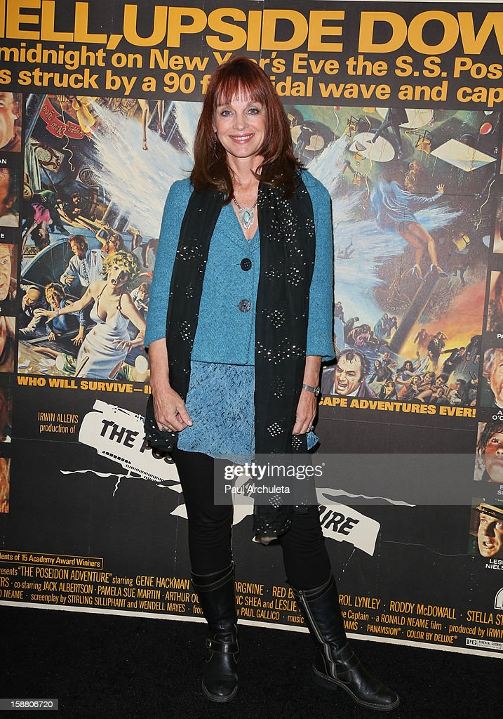 Actress Pamela Sue Martin attends the screening for the 40th Anniversary of 'The Poseidon Adventure' at the American Cinematheque's Egyptian Theatre on December 29, 2012 in Hollywood, California.