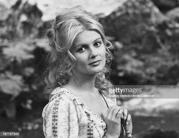 Actress Pamela Tiffin in a scene from the movie 'Deaf Smith and Johnny Ears' 1973