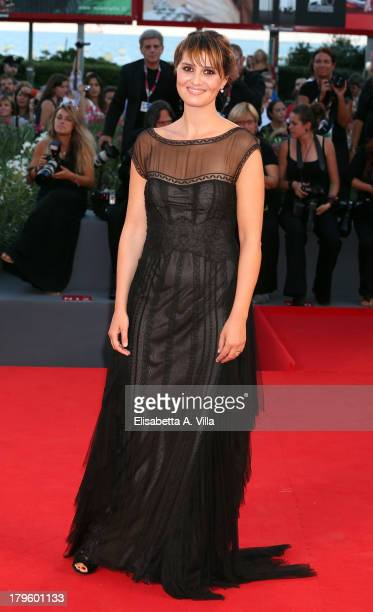 Actress Paola Cortellesi attends 'La Jalousie' Premiere during the 70th Venice International Film Festival at the Sala Grande on September 5 2013 in...