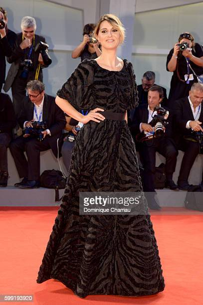 Actress Paola Cortellesi attends the Kineo Diamanti Award Ceremony during the 73rd Venice Film Festival on September 4 2016 in Venice Italy