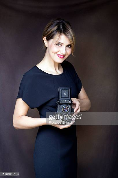 Actress Paola Cortellesi is photographed for Vanity Fair Italy on November 4 2014 in Rome Italy