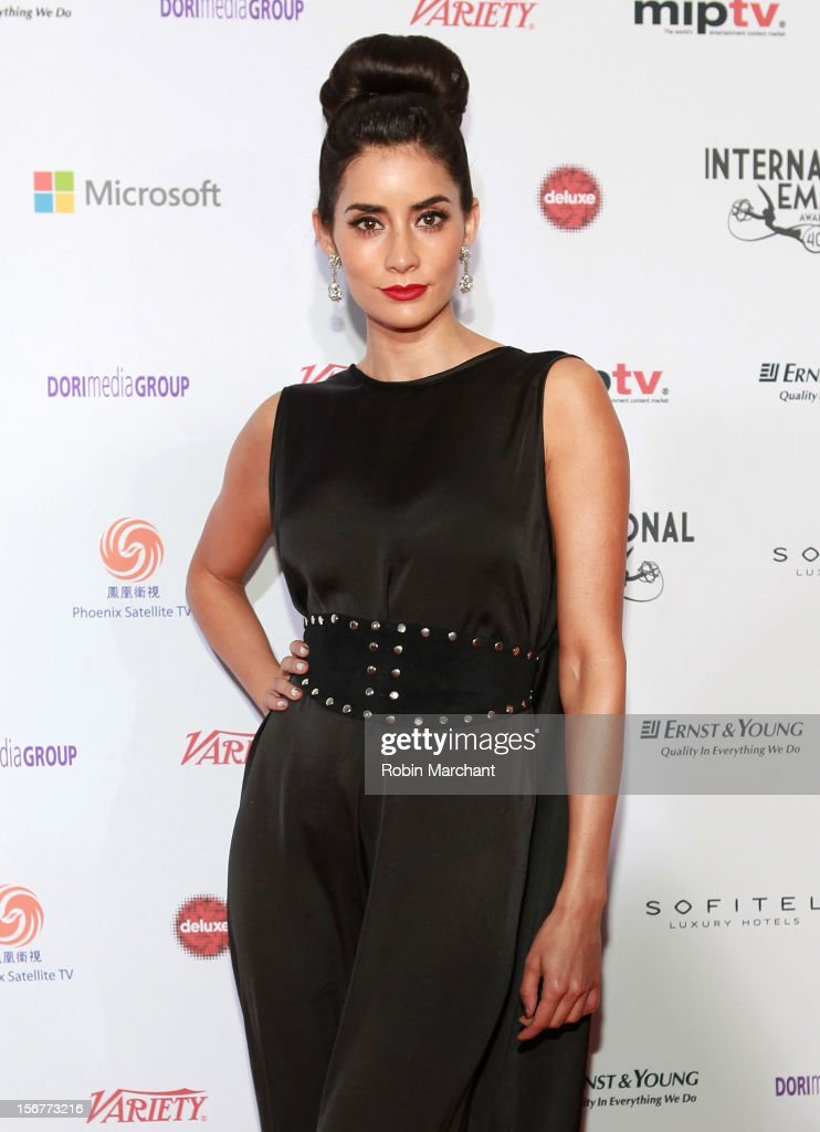 Actress Paola Nunez attends the 40th International Emmy Awards on November 19, 2012 in New York City.
