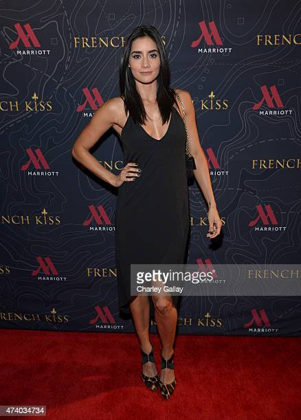 Actress Paola Nunez attends The Marriott Content Studio's 'French Kiss' film premiere at the Marina del Rey Marriott on May 19 2015 in Marina del Rey...