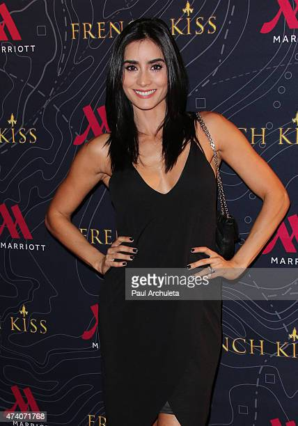 Actress Paola Nunez attends the premiere of 'French Kiss' at The Marina del Rey Marriott on May 19 2015 in Marina del Rey California