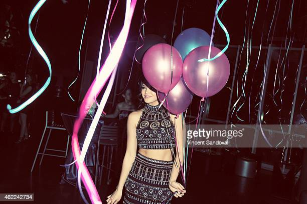 Actress Paris Berelc attends her 'Sweet Sixteen' birthday party at The Loft and Rooftop Wet Deck at W Hollywood on January 25 2015 in Hollywood...