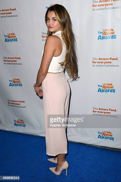 Actress Paris Berelc attends The Actors Fund's 2015 Looking Ahead Awards at Taglyan Cultural Complex on December 3 2015 in Hollywood California
