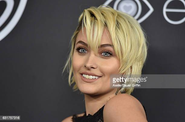 Actress Paris Jackson arrives at the 18th Annual PostGolden Globes Party hosted by Warner Bros Pictures and InStyle at The Beverly Hilton Hotel on...