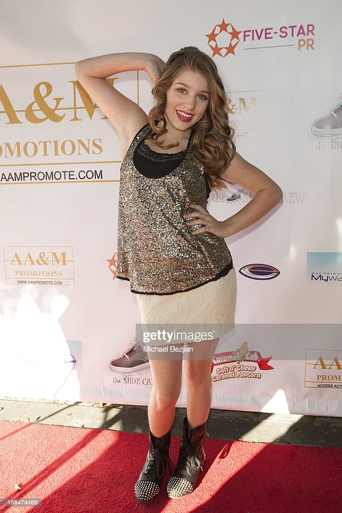Actress Paris Smith attends 'The Shoe Crew' Holiday Launch Party & Charity Benefit at The Joint on December 15, 2012 in Los Angeles, California.