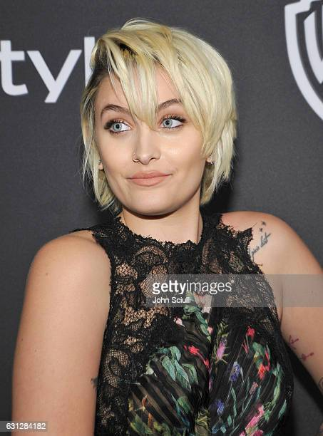 Actress ParisMichael Katherine Jackson attends The 2017 InStyle and Warner Bros 73rd Annual Golden Globe Awards PostParty at The Beverly Hilton Hotel...