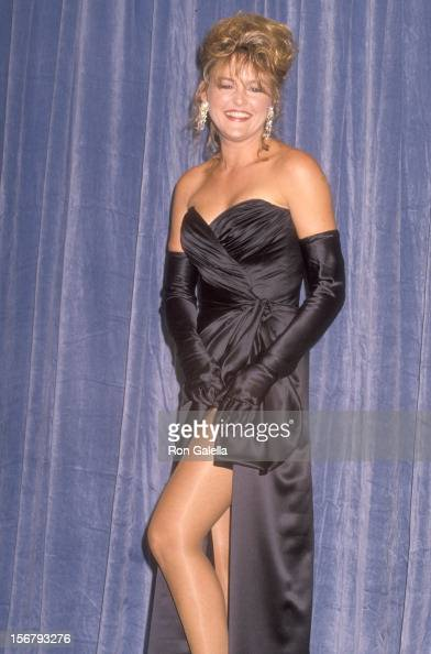 Actress Park Overall attends the 42nd Annual Primetime Emmy Awards on September 16 1990 at Pasadena Civic Auditorium in Pasadena California