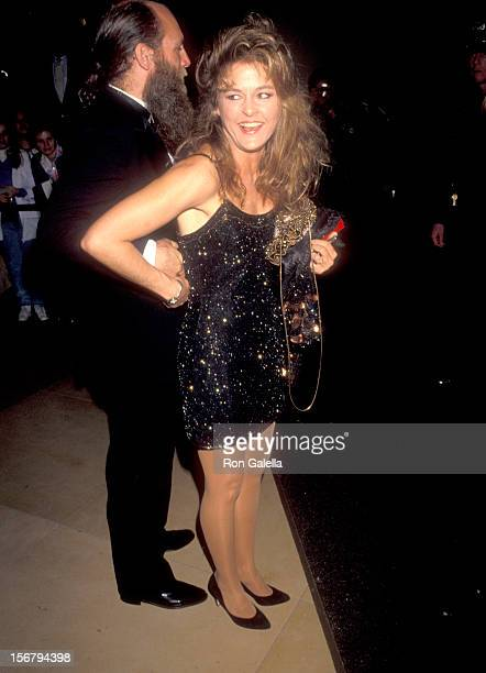 Actress Park Overall attends the 48th Annual Golden Globe Awards on January 19 1991 at Beverly Hilton Hotel in Beverly Hills California