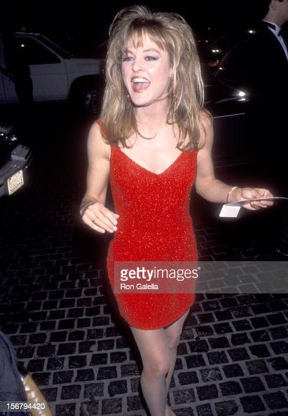 Actress Park Overall attends the 50th Annual Golden Globe Awards on January 23 1993 at Beverly Hilton Hotel in Beverly Hills California