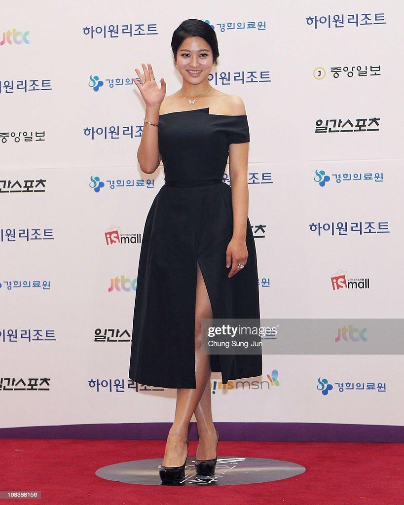 Actress Park Se-Nyung arrives for the 49th Paeksang Arts Awards on May 9, 2013 in Seoul, South Korea.