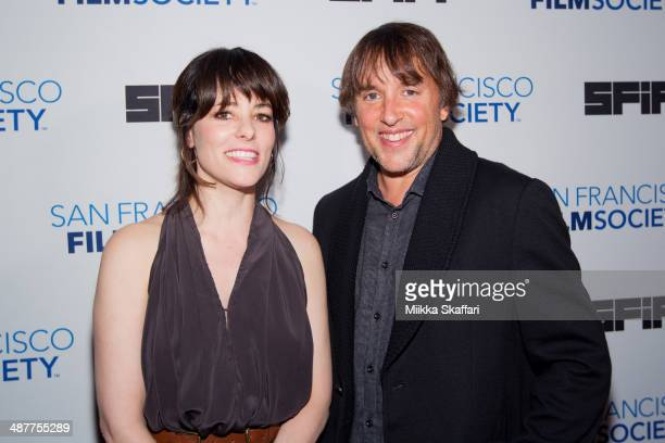 Actress Parker Posey and director Richard Linklater arrive at Film Society Awards Night at San Francisco International Film Festival on May 1 2014 in...