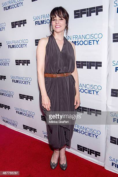 Actress Parker Posey arrives at Film Society Awards Night at San Francisco International Film Festival on May 1 2014 in San Francisco California