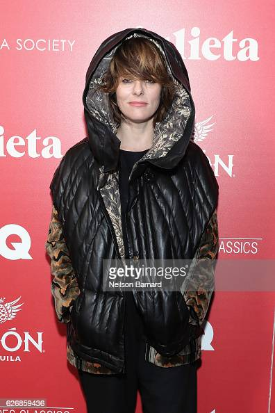Actress Parker Posey attends a screening of Sony Pictures Classics' 'Julieta' hosted by The Cinema Society Avion and GQ at Landmark Sunshine Cinema...