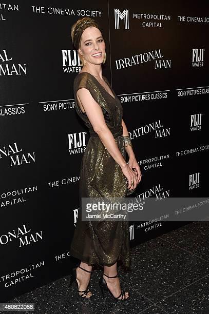 Actress Parker Posey attends Sony Pictures Classics 'Irrational Man' premiere hosted by Fiji Water Metropolitan Capital Bank and The Cinema Society...