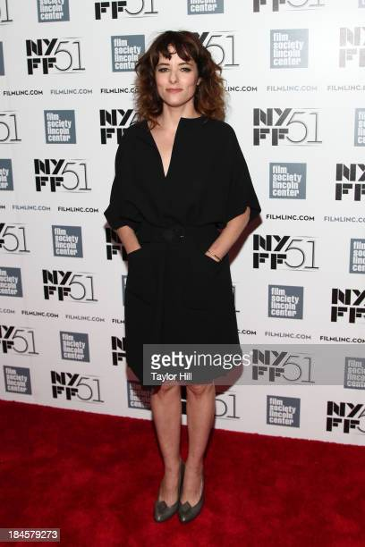 Actress Parker Posey attends the 'Dazed And Confused' 20th anniversary during the 51st New York Film Festival at Alice Tully Hall at Lincoln Center...