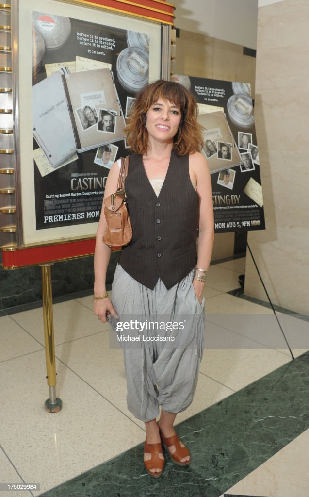 Actress Parker Posey attends the New York Premiere of HBO Documentary 'Casting By' at HBO Theater on July 29 2013 in New York City