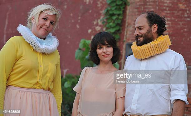 Actress Parker Posey attends the Rachel Comey presentation at Pioneer Works Center For Arts Innovation in Red Hook on September 4 2014 in New York...