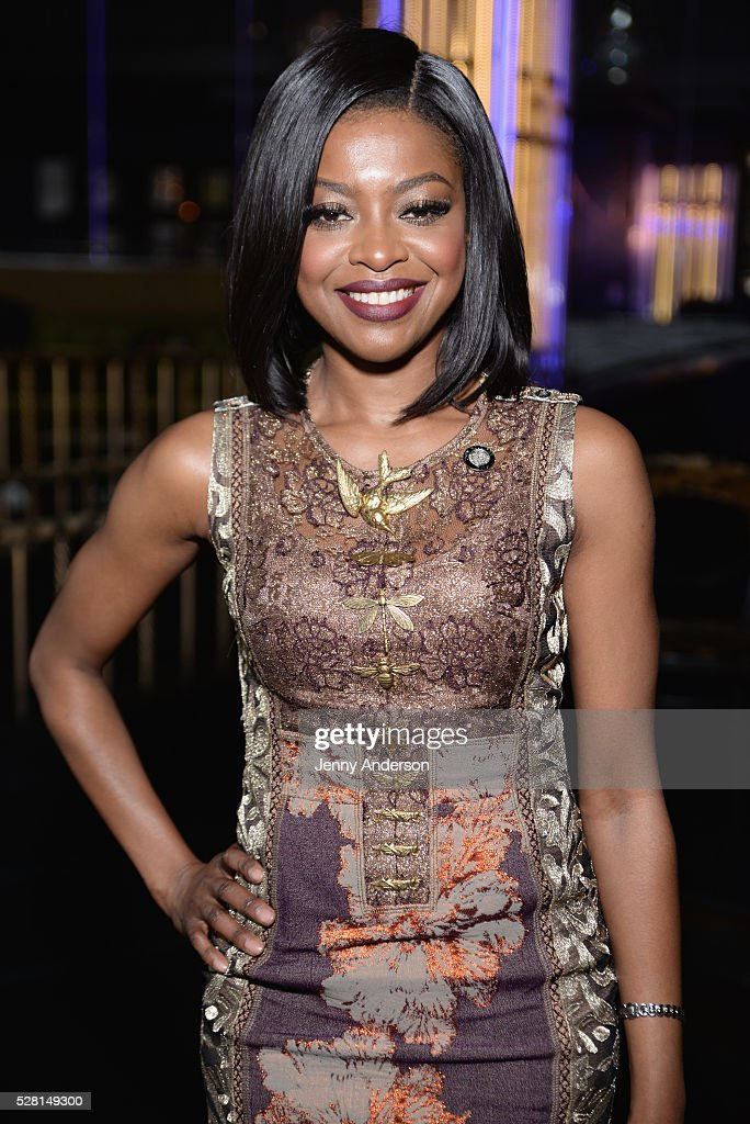 Actress Pascale Armand attends the 2016 Tony Awards Meet The Nominees Press Reception on May 4, 2016 in New York City.