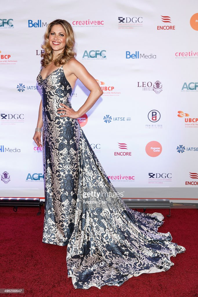 Actress Pascale Hutton attends the 2014 Leo Awards - Gala Awards Ceremony at Fairmont Hotel Vancouver on June 1, 2014 in Vancouver, Canada.