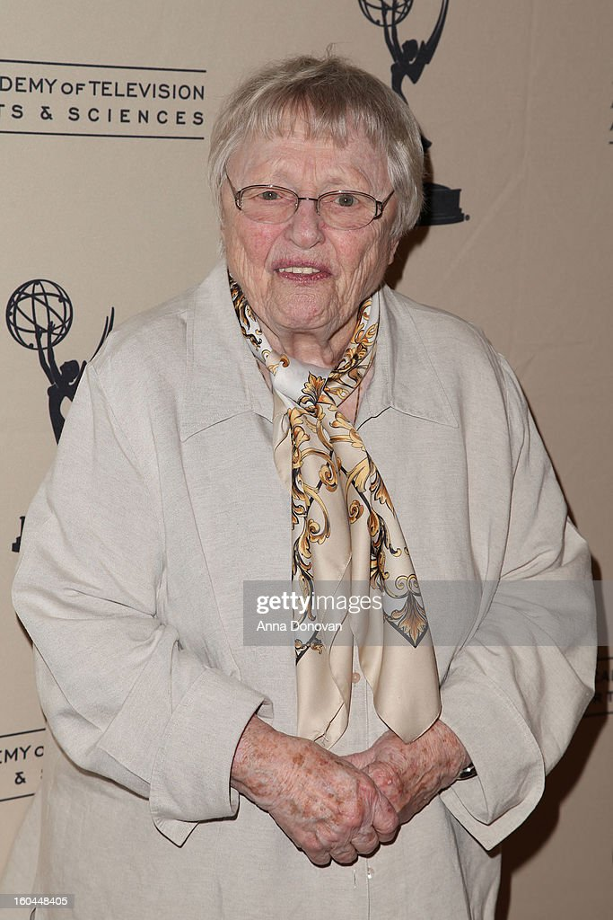 Actress Pat Carroll attends 'Retire From Showbiz:? No Thanks!' at the Academy of Television Arts & Sciences Conference Centre on January 31, 2013 in North Hollywood, California.
