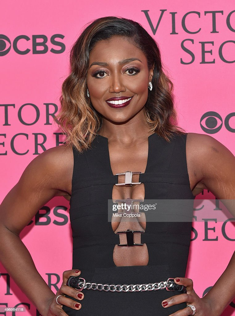 Actress Patina Miller attends the 2015 Victoria's Secret Fashion Show at Lexington Avenue Armory on November 10 2015 in New York City