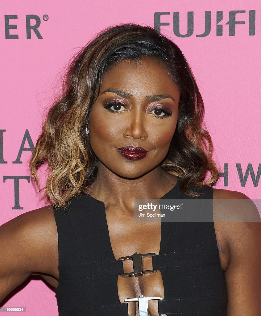 Actress Patina Miller attends the 2015 Victoria's Secret Fashion Show after party at TAO Downtown on November 10, 2015 in New York City.
