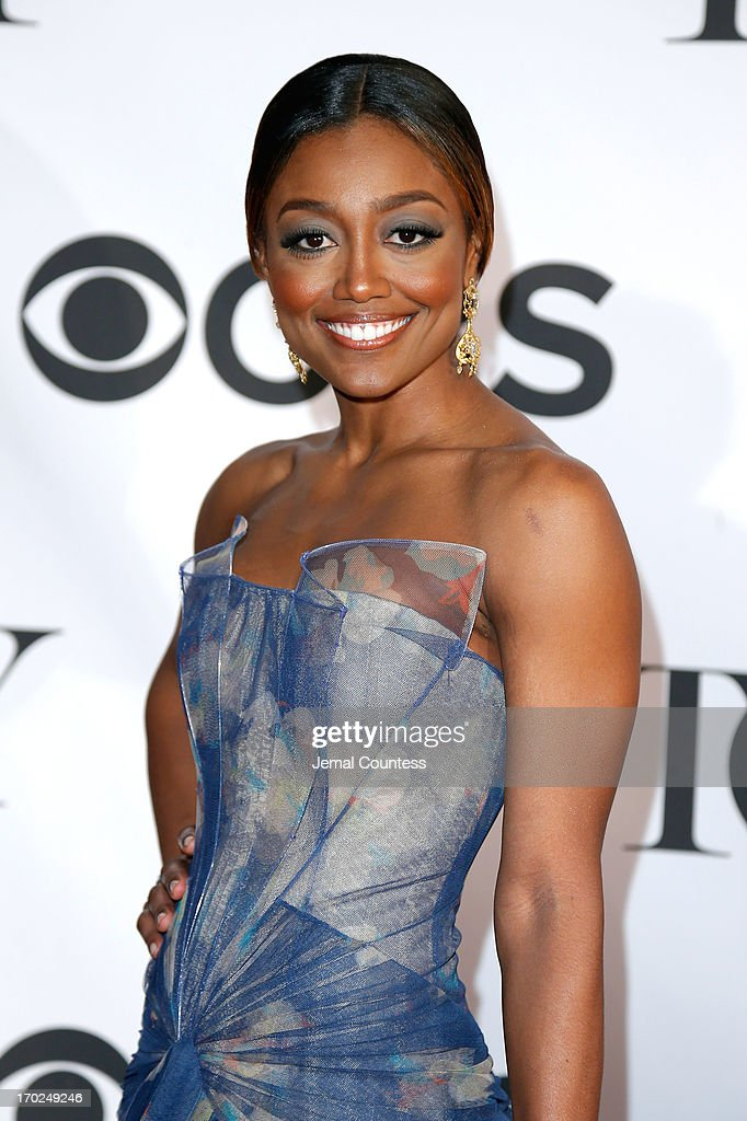 Actress Patina Miller attends The 67th Annual Tony Awards at Radio City Music Hall on June 9 2013 in New York City