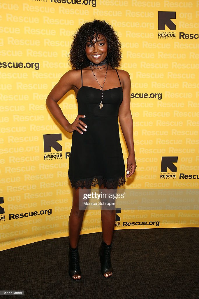 Actress Patina Miller attends the 6th Annual GenR Summer Party Hosted By International Rescue Committee at Tribeca Rooftop on July 19 2016 in New...