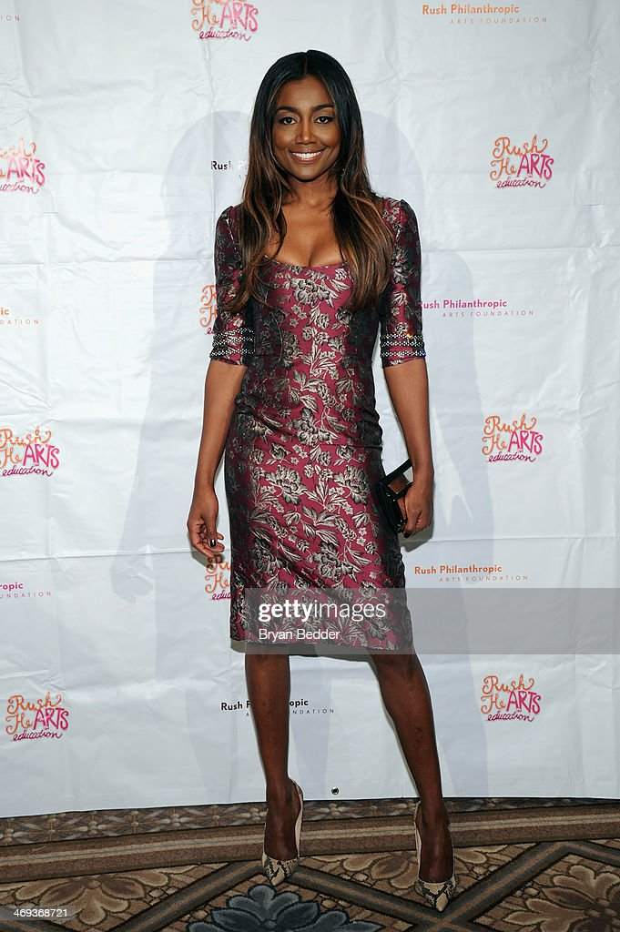Actress Patina Miller attends the Rush HeARTS Education Luncheon at The Plaza Hotel on February 14 2014 in New York City