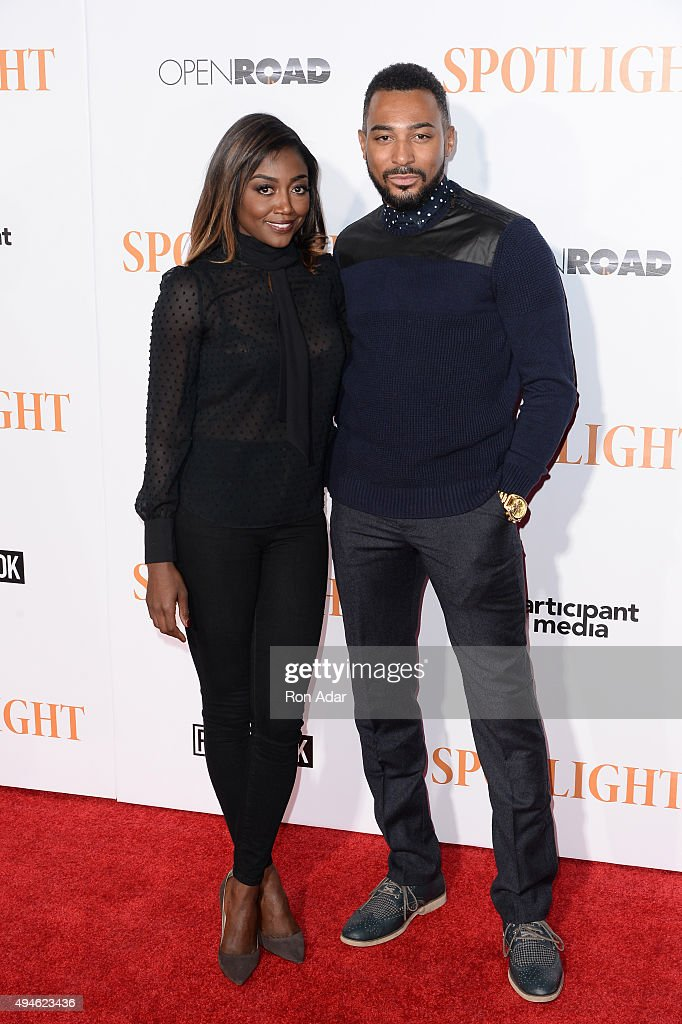 Actress Patina Miller attends the 'Spotlight' New York premiere at Ziegfeld Theater on October 27 2015 in New York City